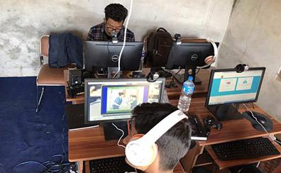 Nilkantha VDC-Dhading- ICT service center