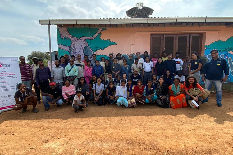 3rd Community Network Exchange 2019 workshop has organized in south indian village