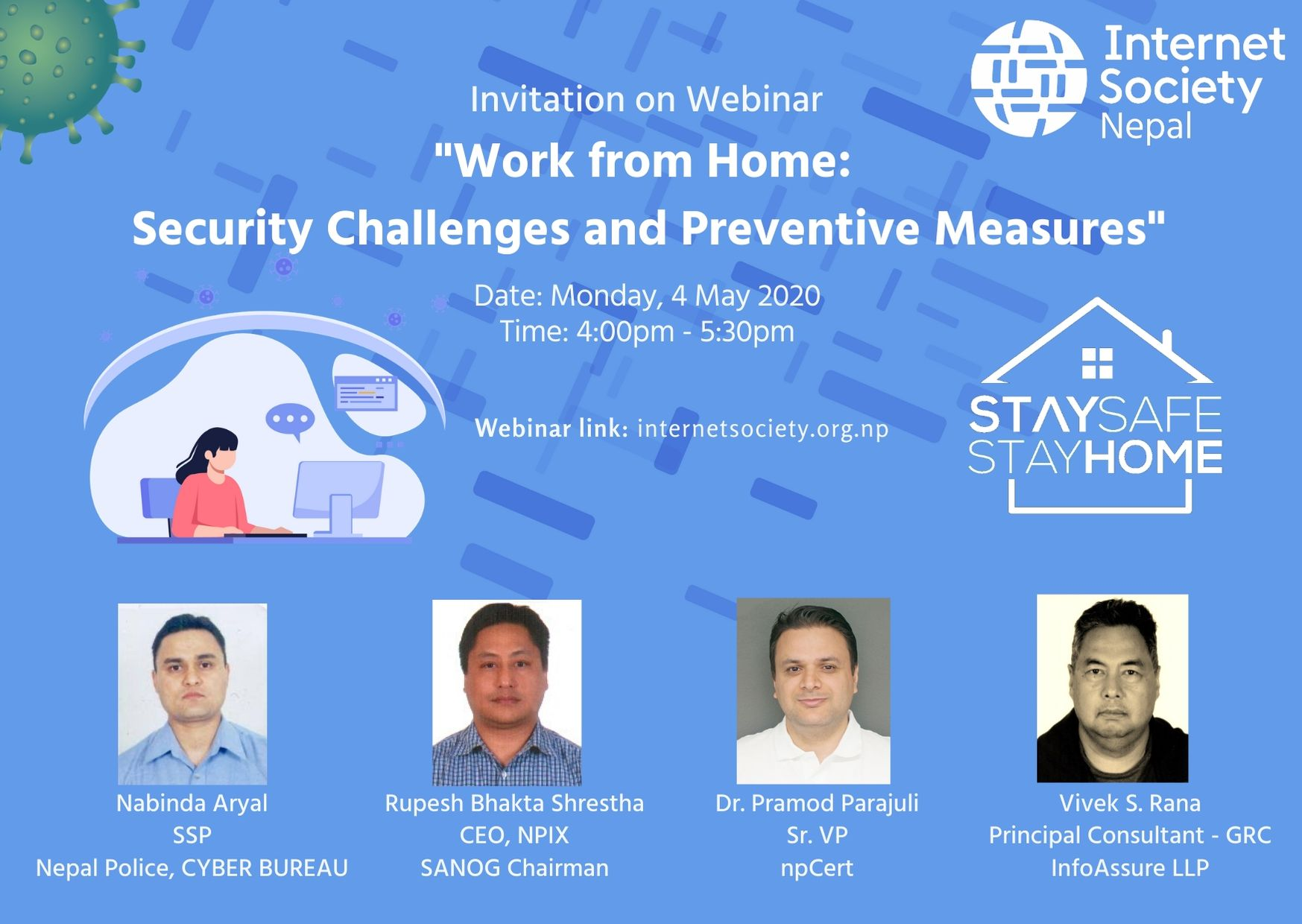 Work from Home:  Security Challenges and Preventive Measures
